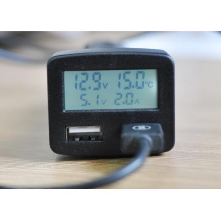 Лучшее USB 3Am зарядное FedaDM 5IN1 от прикуривателя автомобиля
