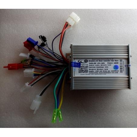 Синусныеконтроллер Smart Controller LSC600/48-60для электровелосипедов,электроскутеров иэлектросамокатов