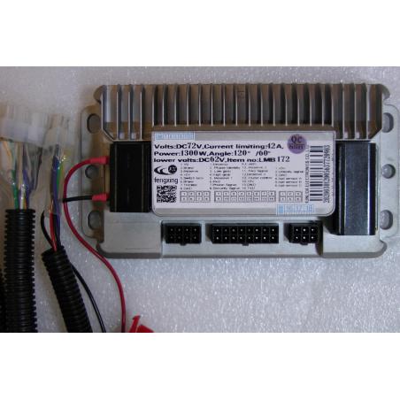 Контроллер 72V 1300W 42а универсальный синусный для электровелосипедов скутеров и электросамокатов