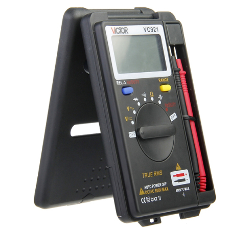Карманный автоматический мультиметр VICTOR VC-921 оригинал.