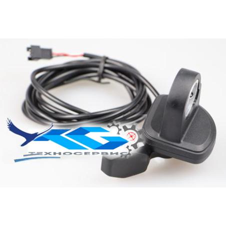 Клавиша газа (педалька) левого исполнения для электросамокатов электровелосипедов, электроскутеров