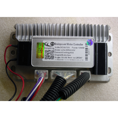 Контроллер 60v-72v/ 1200W 45а универсальный синусный для электровелосипедов скутеров и электросамокатов