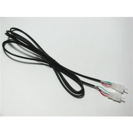Трехжильный кабель- удлинитель для ручки газа  электровелосипеда, электросамоката, электроскутера