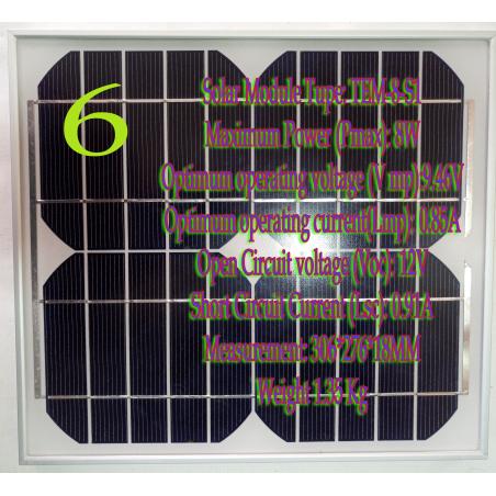 Солнечный модуль   TEM-8-S1-SOLAR PANELS