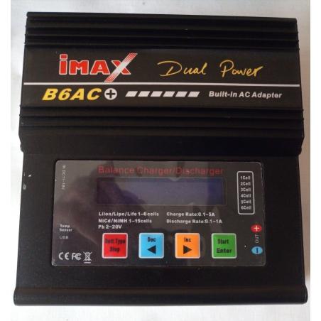 Интеллектуальное зарядное устройство iMAX B6AC+V2 с встроенным блоком питания (12V-6A)