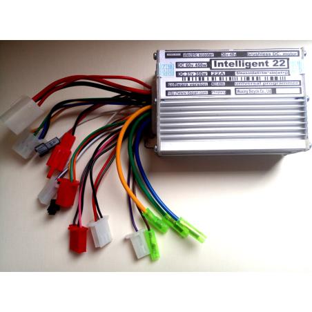 Контроллер 36/48V350W/450W универсальный  Intelligent22-maximum  для  электроскутеров и элекросамокатов