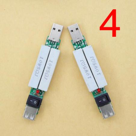 USB нагрузочный элемент для тестирования 1 a-2a