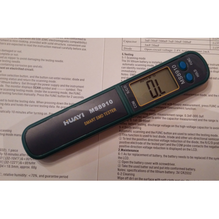 Мультиметр SMD компонентов
