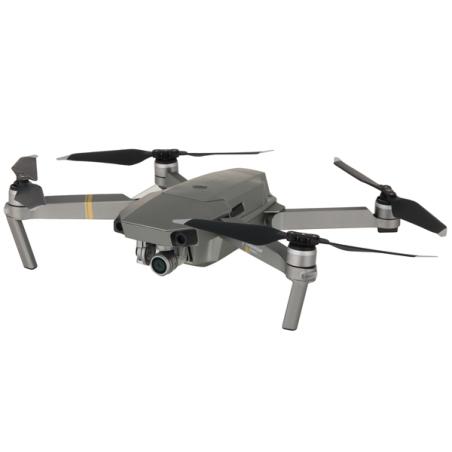 Квадрокоптер DJI Mavic PRO PLATINUM Fly more Combo серебристый