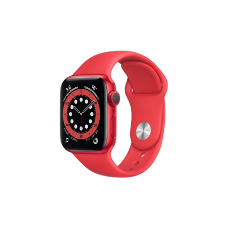 Смарт-часы Apple Watch S6 44mm Red