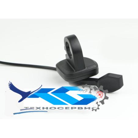 Клавиша газа (педалька) правого исполнения для электросамокатов электровелосипедов, электроскутеров