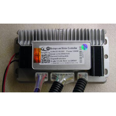 Контроллер 48v-60v/ 1200W 45а универсальный синусный для электровелосипедов скутеров и электросамокатов