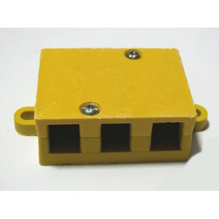 Термостойкая распределительная коробка для подключения контроллера к электромотору 6mm для электросамоката , электровелосипеда и электроскутеров.