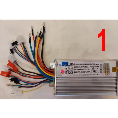 Синусныеконтроллер Smart Controller LSC9742/48-60-64/800wдля электровелосипедов,электроскутеров иэлектросамокатов