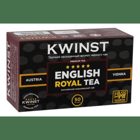 Чай KWINST английский королевский, 50 пакетиков