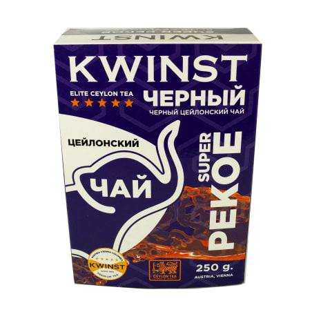 Чай KWINST черный цейлонский