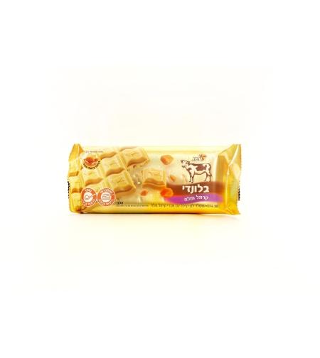 Шоколад белый с кусочками карамели и соли 'Блонди' 'Элит' 100 гр.