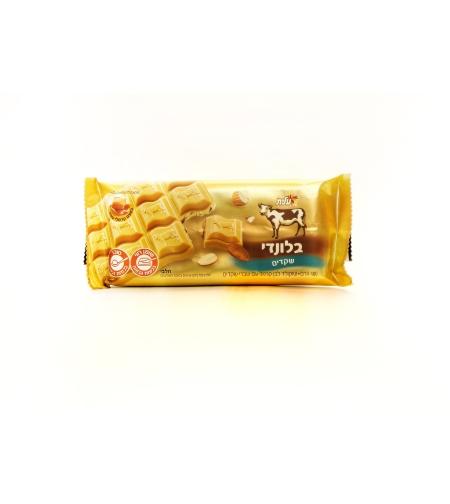 Шоколад белый с кусочками миндаля 'Блонди' 'Элит' 100 гр.
