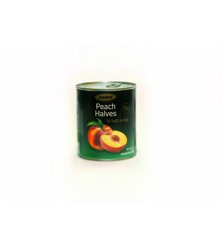 Персики половинки консерв. премиум