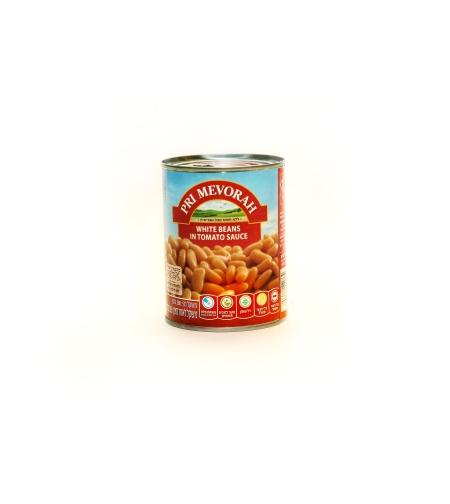 Фасоль тушёная в томатном соусе