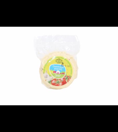 Сыр рассольный  'с сушёным помидором, укропом и чесноком' 'Семейная Ферма' 400 гр