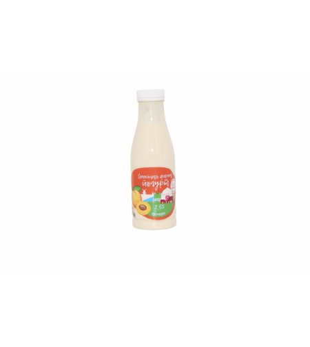 Йогурт абрикосовый 2.5 % 'Семейная ферма' 450 гр.