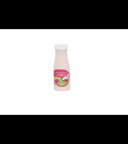 Йогурт клубничный 2.5 % 'Семейная ферма' 450 гр.
