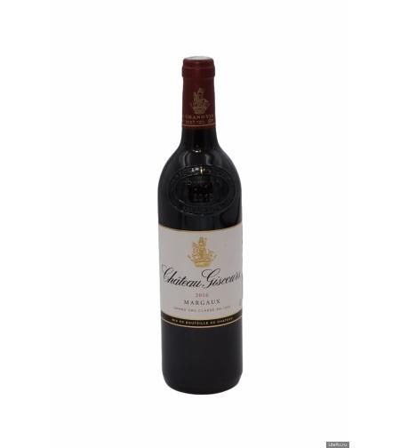 Вино  'Шато Жискур' сухое/красное 0,75 л.