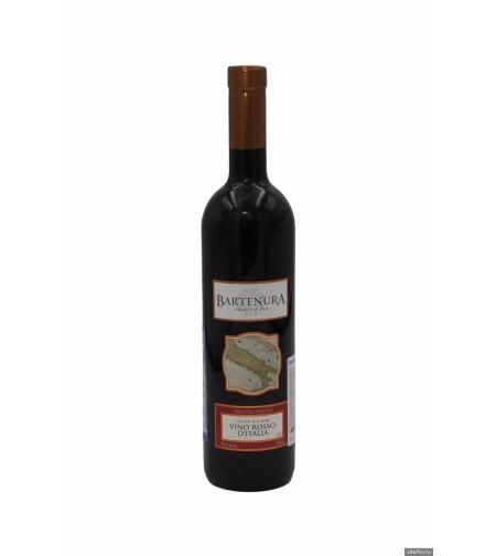 Вино 'Бартенура Вино Россо д'Италия'  красное/сухое 0,75 л.