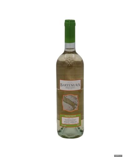 Вино 'Бартенура Пино Гриджио' белое/сухое 0,75 л.