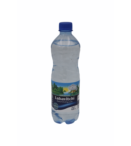 Вода 'Любавичи' 0,5 л. б/газ пэт