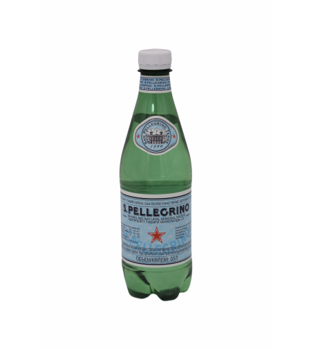 Вода S.Pellegrino пласт.бут 0,5л