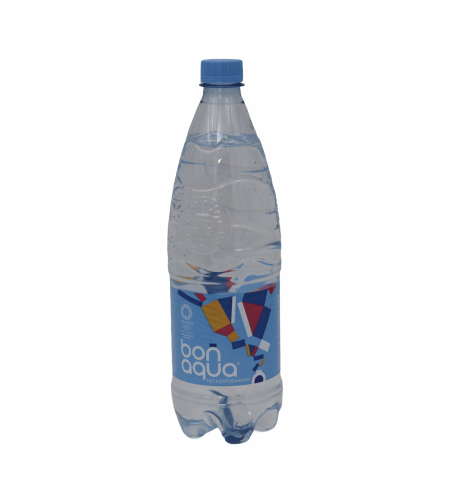 Вода Бон Аква б/газ. 1л. пэт