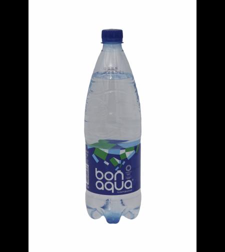 Вода Бон Аква газ. 1л. пэт