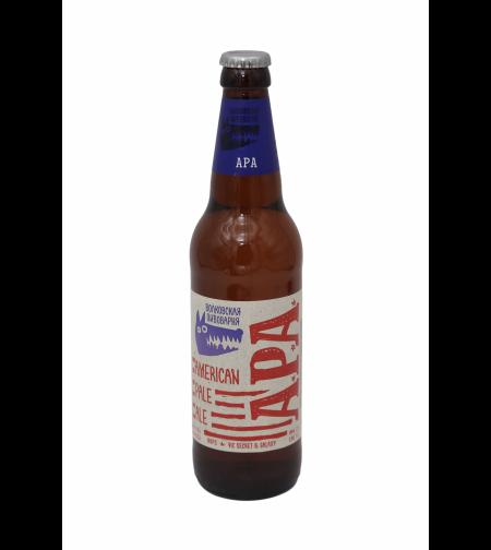 Пиво 'Волковская Пивоварня АРА/АПА' 0,45 л.