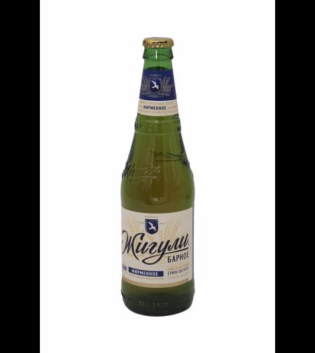 Пиво 'Жигули Барное' 0,5 л.