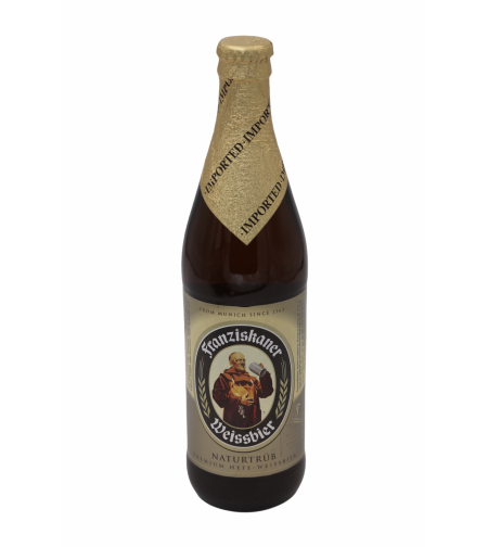Пиво 'Францисканер Хефе-Вайсбир' светлое 0,5 л.