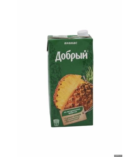 Сок ананасовый 'Добрый' 2 л.