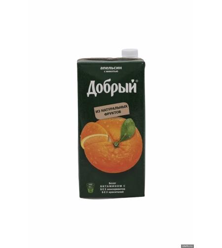 Сок апельсиновый 'Добрый' 2л.