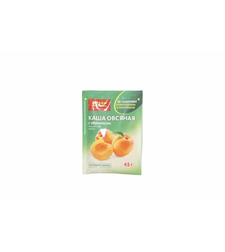 Каша овсян. с абрикосом 'Ясно солнышко' 45 гр