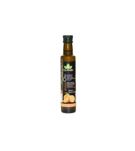 Масло оливковое нераф. с апельсином 'Bioitalia' 0.25 мл.