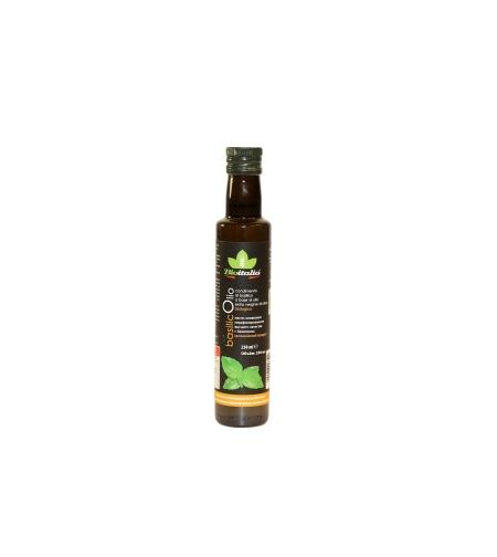 Масло оливковое нераф. с базиликом 'Bioitalia' 0.25 мл.