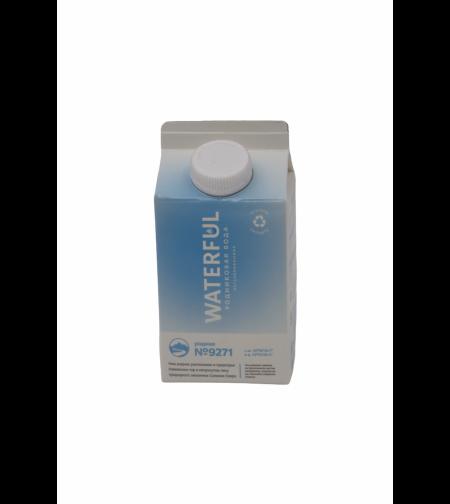 Вода родниковая 'Waterful' 0,5 л.