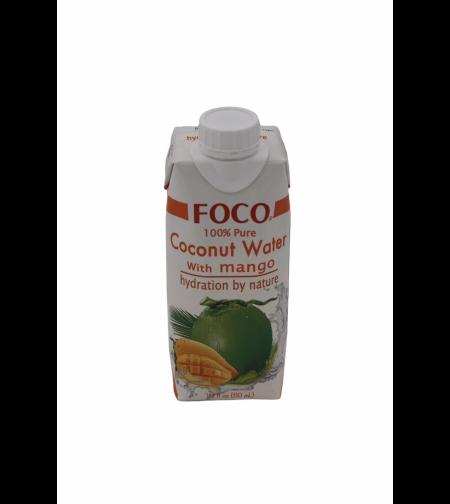 Кокосовая вода c манго 'FOCO' 330 мл.