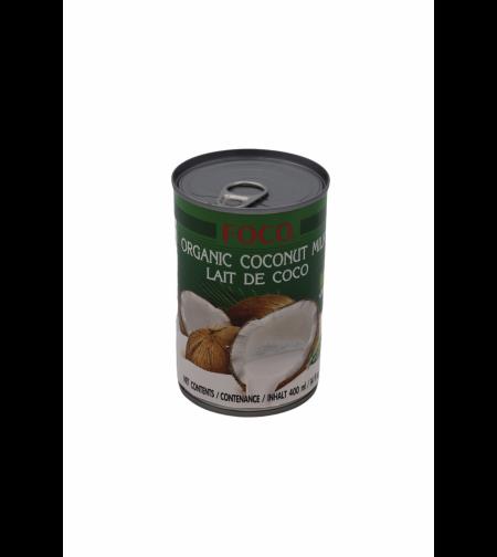 Кокосовое молоко Органическое 400 мл. 'Foco'