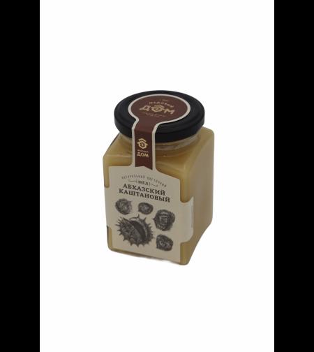 Мёд 'Медовый дом' цветочный Абхазский каштановый 320 гр