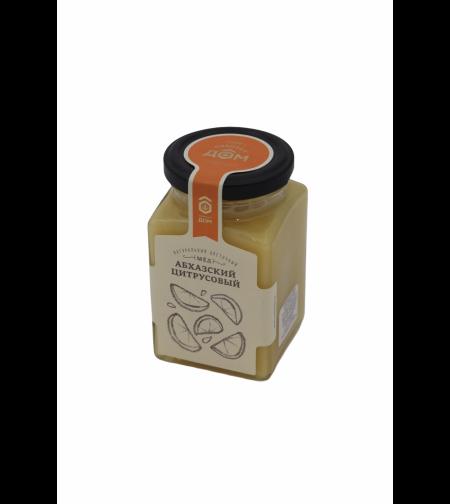 Мёд 'Медовый дом' цветочный Абхазский цитрусовый 320 гр