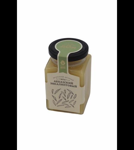 Мёд 'Медовый дом' цветочный Абхазский эвкалиптовый 320 гр