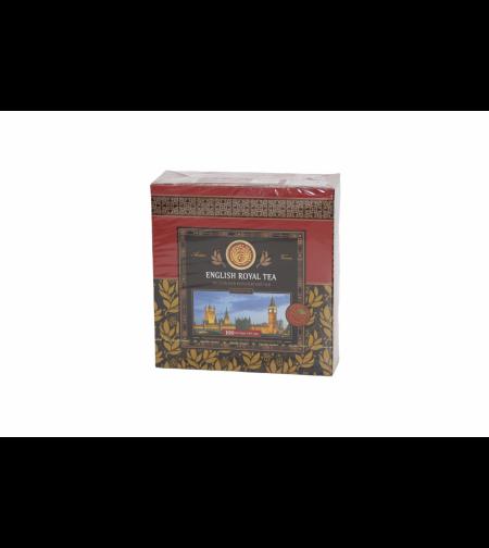 Чай чёрный английский королевский 100 пакет. 'Kwinst'
