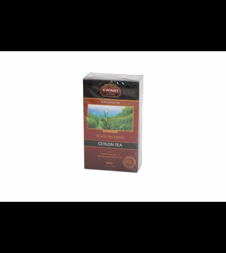 Чай чёрный цейлонский Пекое 200 гр 'Kwinst'